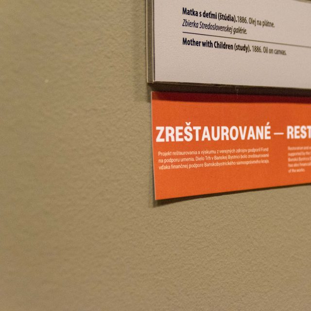 26 - ZREŠTAUROVANÉ – Stála expozícia Dominika Skuteckého
