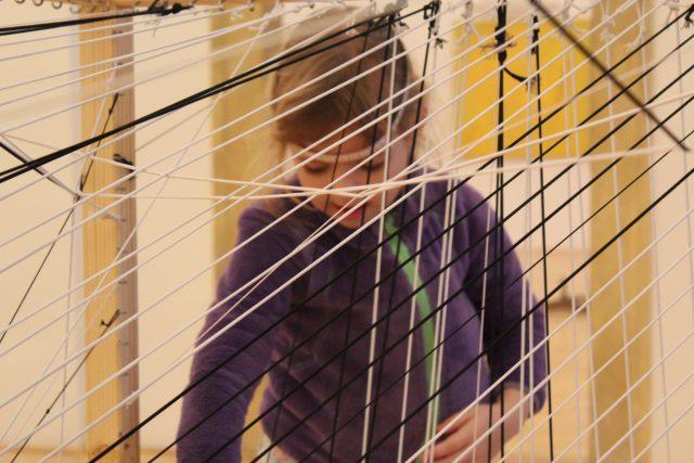 """""""Čiara je bodka, ktorá išla na prechádzku"""" (Paul Klee)"""