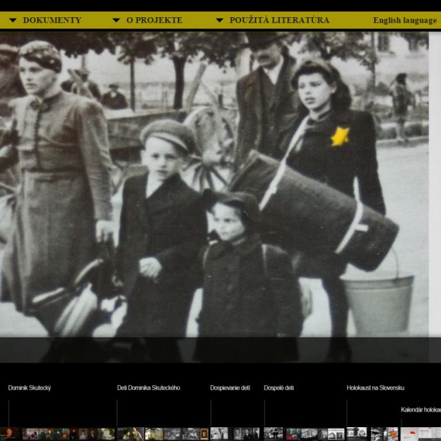 Holokaust a osudy detí D. Skuteckého