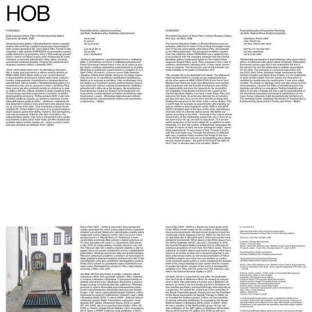 2 - Stála expozícia Stana Filka v SSG, Časť prvá: Ján Ballx, HOB
