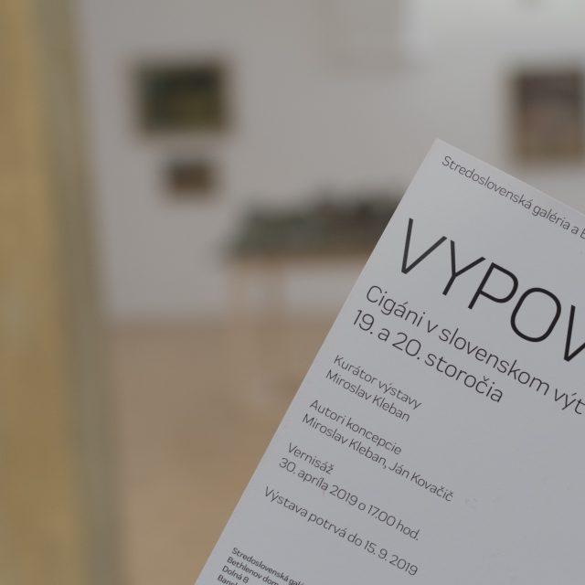 1 - VYPOVEDANÍ / Cigáni v slovenskom výtvarnom umení 19. a 20. storočia