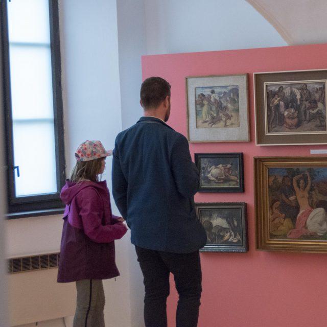 13 - VYPOVEDANÍ / Cigáni v slovenskom výtvarnom umení 19. a 20. storočia