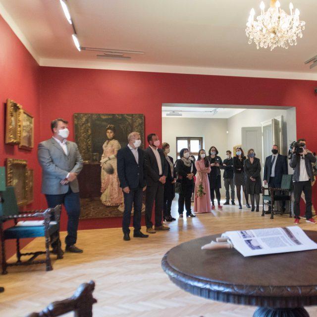 13 - RENOVATED – Permanent exhibition of Dominik Skutecký