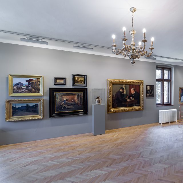 41 - RENOVATED – Permanent exhibition of Dominik Skutecký
