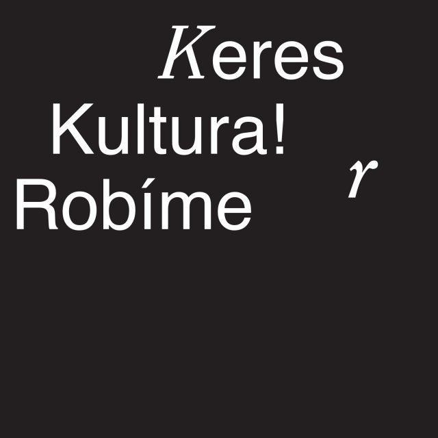 KERES KULTURA! / ROBÍME KULTÚRU! (súčasné umenie arómska identita)