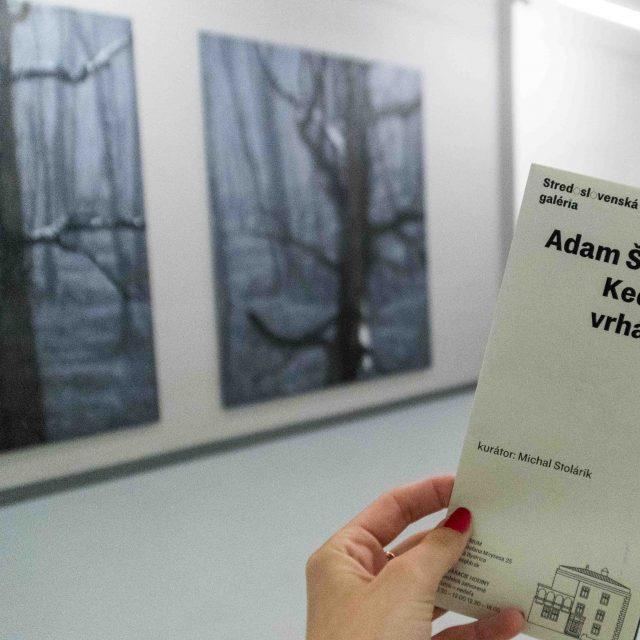 1 - Adam Šakový, Keď tieň vrhá tieň/When a shadow casts a shadow