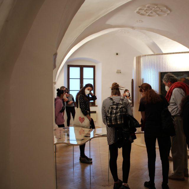 11 - KOMENTOVANÁ PREHLIADKA výstavy s kurátorkou