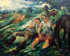 OBRAZY ROZTRIEŠTENÉHO SVETA – Kapitola z dejín slovenského výtvarného expresionizmu