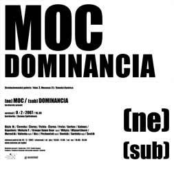 (ne)MOC-(sub)DOMINANCIA